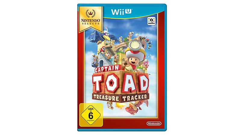 [Angebot] Captain Toad: Treasure Tracker – Nintendo Selects – [Wii U] für 11,14€