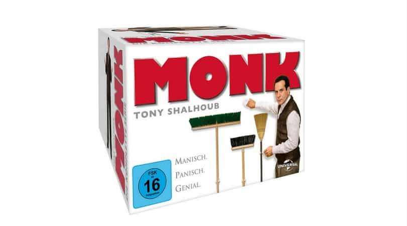 Angebot Monk Die Komplette Serie 32 Discs F 252 R 30