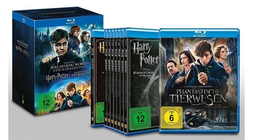 Tagesangebot 9 Film Collection Harry Potter Und