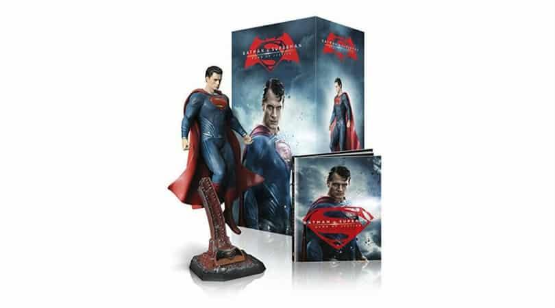 Batman v Superman: Dawn of Justice Ultimate Collectors Edition (inkl. Superman und Digibook) (Blu-ray 3D + Blu-ray 2D) für 61,47€