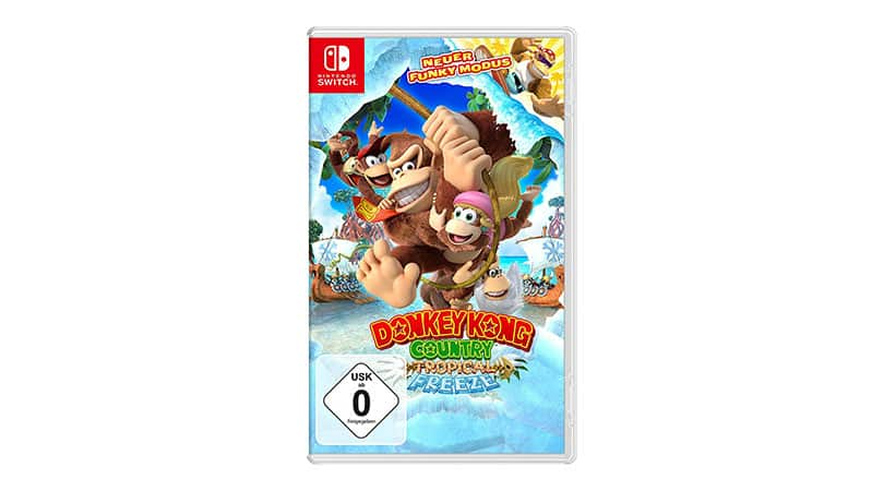[Vorbestellen] Donkey Kong Country Tropical Freeze – [Nintendo Switch]