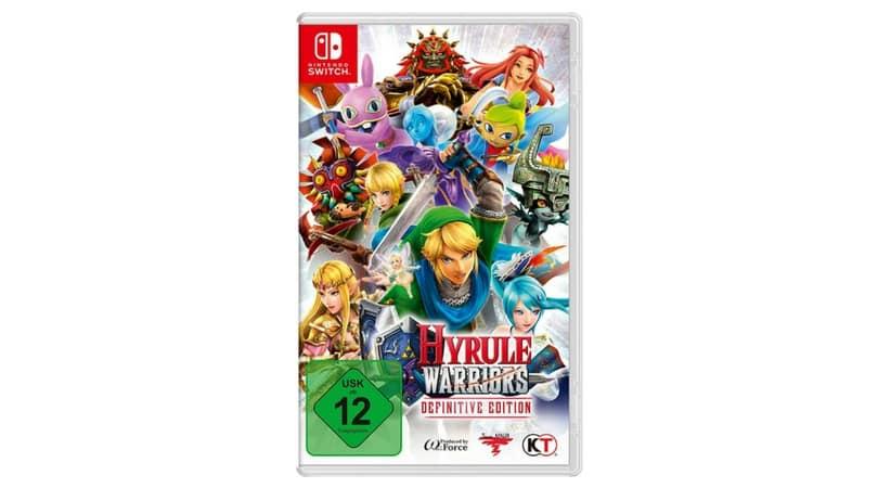 [Vorbestellen] Hyrule Warriors Definitive Edition – [Nintendo Switch] – Artwork bekannt
