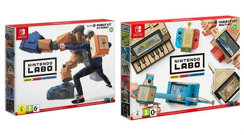 [Vorbestellen] Nintendo Labo: Multi-Set, Robo-Set und Design-Set [Nintendo Switch]