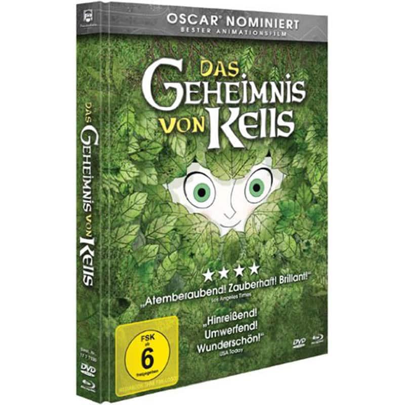 """""""Das Geheimnis von Kells"""" in der Mediabook Edition (Blu-ray + DVD) für 8,97€"""
