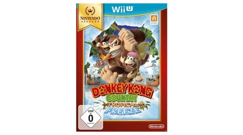 [Angebot] Donkey Kong Country: Tropical Freeze – Nintendo Selects – [Wii U] für 11,14€