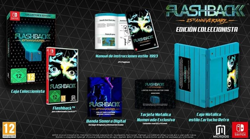 Flashback 25th Anniversary Collectors Edition [Nintendo Switch] für 16,99€