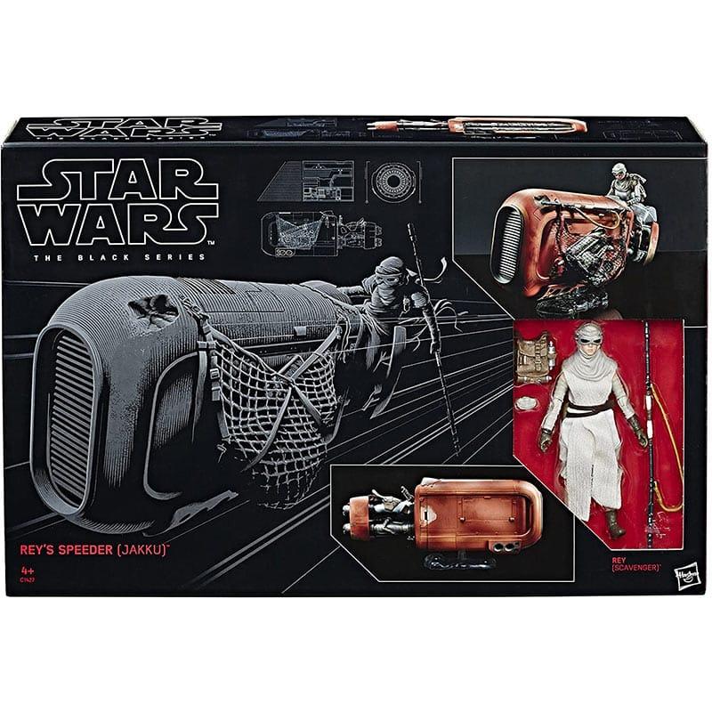 Hasbro Star Wars C1427EU4 – Rey und Speeder 6 Zoll (The Black Series) für 38,95€