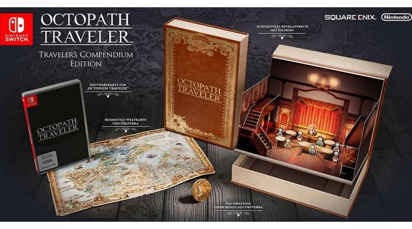 [Vorbestellen] Project Octopath Traveller Compendium Edition – [Nintendo Switch] – wieder verfügbar