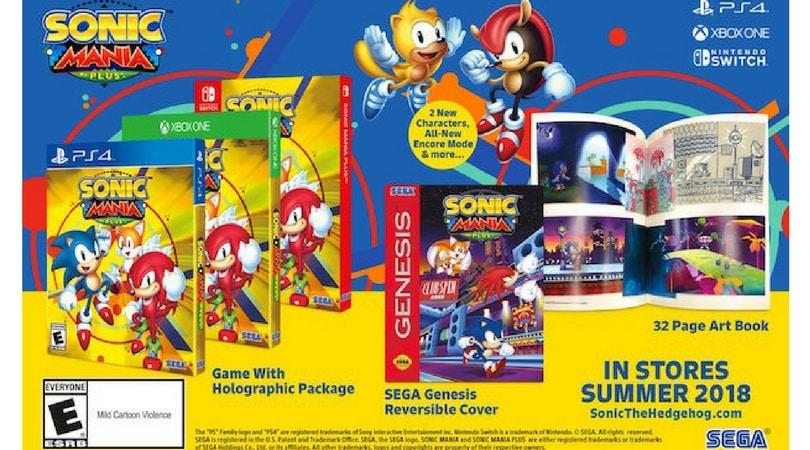[Vorbestellen] Sonic Mania Plus (Playstation 4, Xbox One und Nintendo Switch)