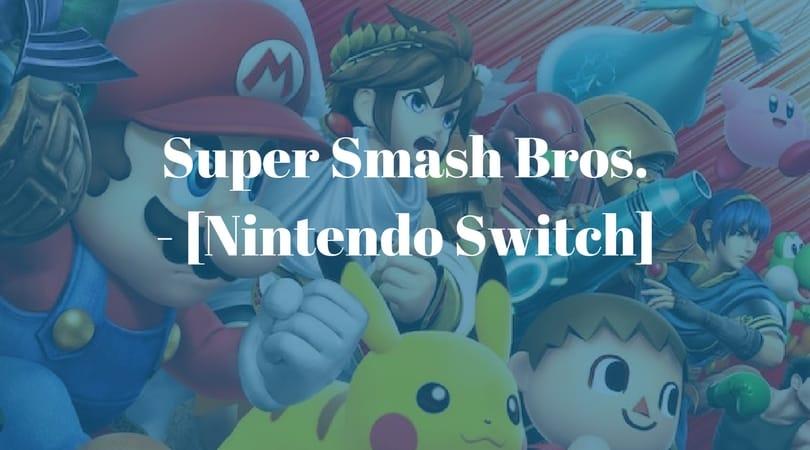 [Vorbestellen] Super Smash Bros. – [Nintendo Switch]