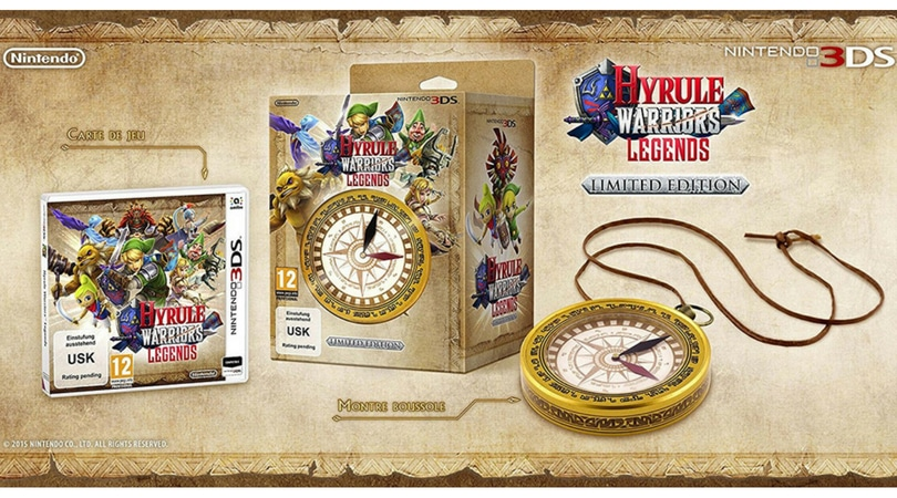[Angebot] Hyrule Warriors: Legends Limited Edition [Nintendo 3DS] für 18,85€