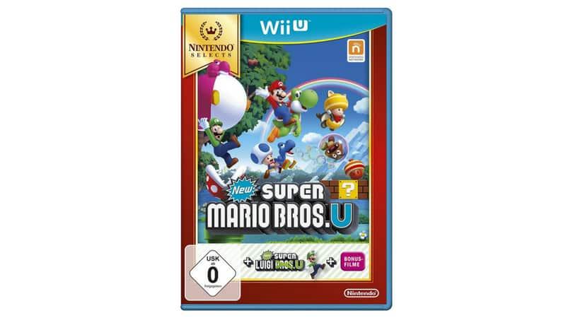 [Angebot] New Super Mario Bros. U + New Super Luigi U – Nintendo Selects – [Wii U] für 15€
