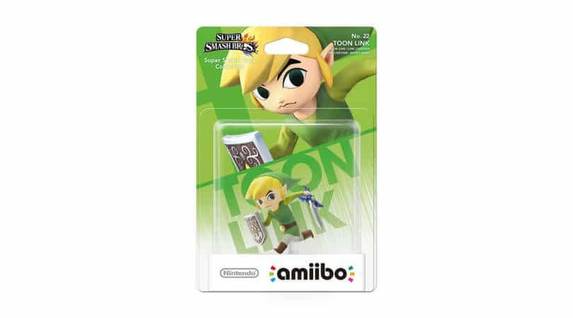 [Angebot] amiibo Smash Toon Link Figur für 14,99€