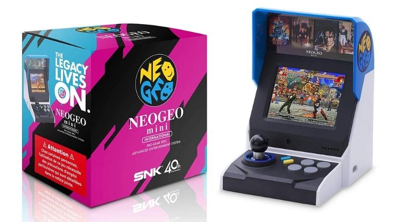 Vorbestellen Neogeo Mini Console International Version