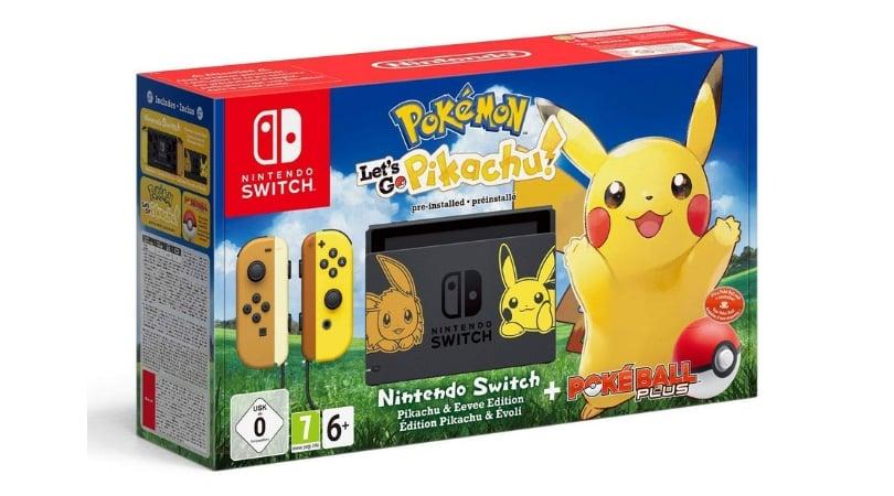 Vorbestellen Nintendo Switch Konsole Pokemon Let S Go Pikachu