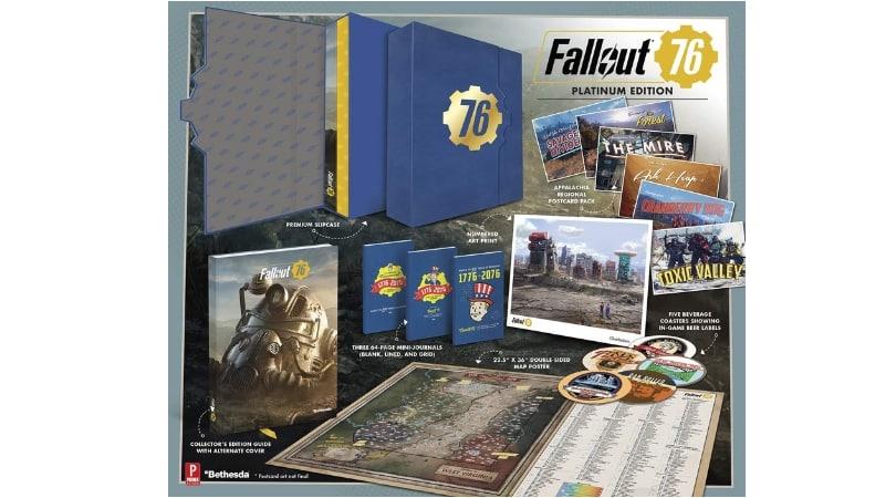 [Angebot] Fallout 76: Official Guide – Platinum Edition (Gebundenes Buch/ Englisch) für 18€