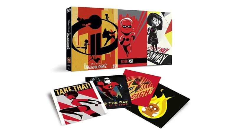 [Angebot] Die Unglaublichen 2 – inkl. 6 Sammelkarten [3D/2D Blu-ray + Bonus Disc] für 13,59€