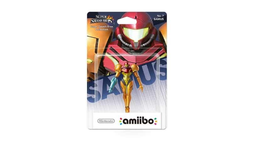 """[Angebot] amiibo Figur """"Samus"""" (Smash Bros. Collection) für 12,99€"""