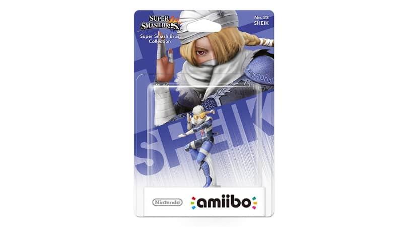 [Angebot] amiibo Smash Sheik Figur für 14,99€