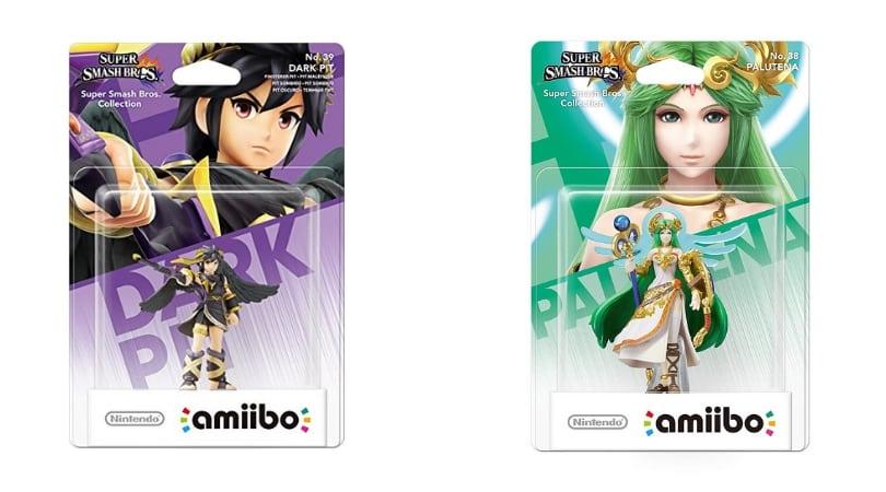 """[Angebot] amiibo (Super Smash Bros. Collection) """"Palutena"""" und """"Finsterer Pit"""" für je 6,99€"""