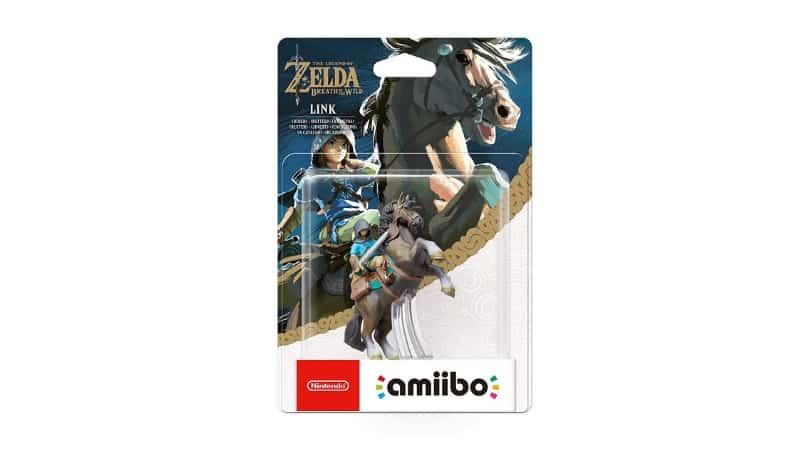 [Angebot] amiibo The Legend of Zelda Collection Link Reiter (Breath of the Wild) für 13,99€