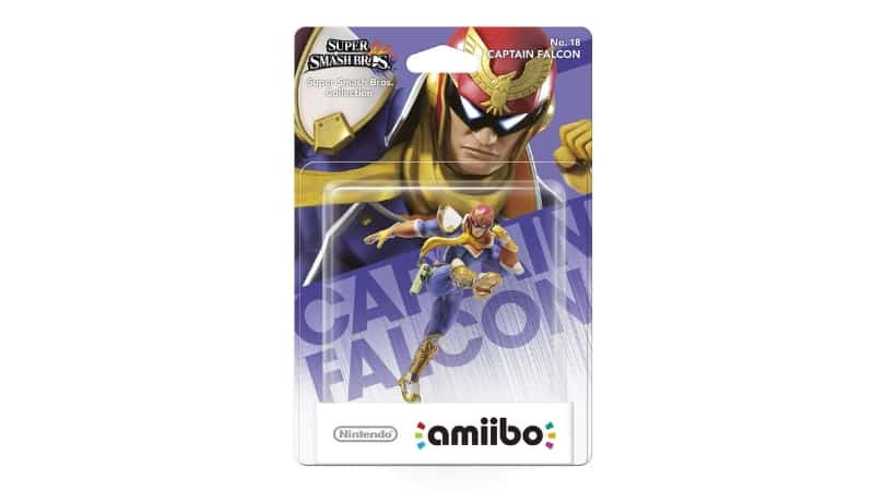 "[Angebot] amiibo (Super Smash Bros. Collection) ""Captain Falcon"" für 7,39€"