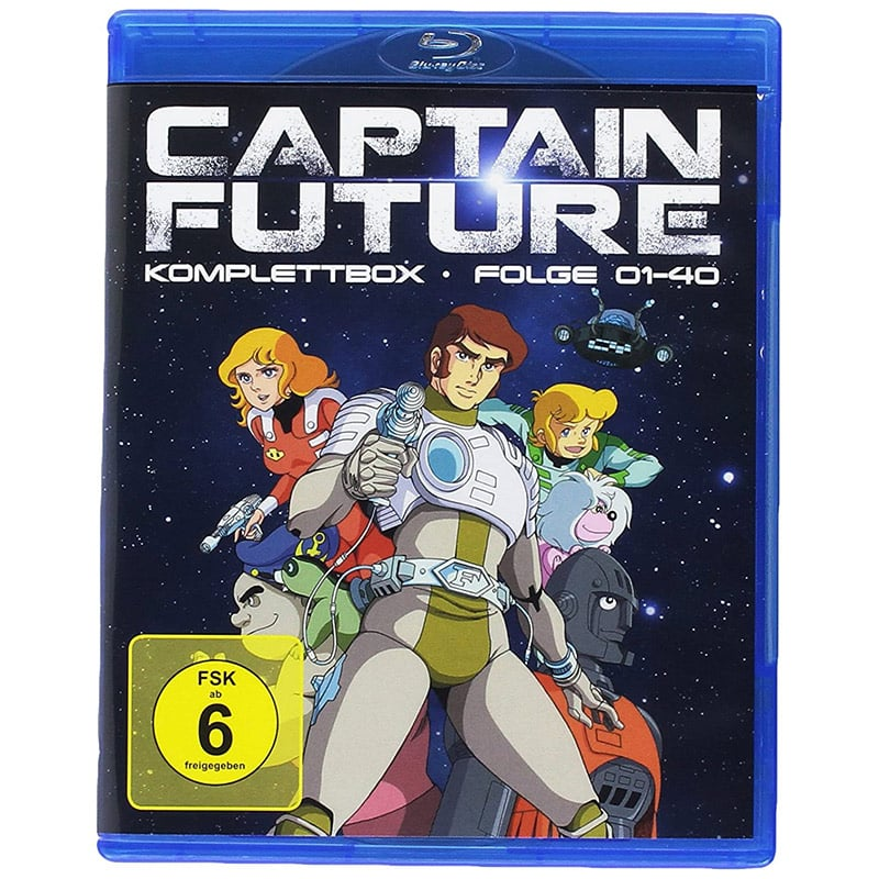 Captain Future – Komplettbox (Blu-ray) für 34,97€