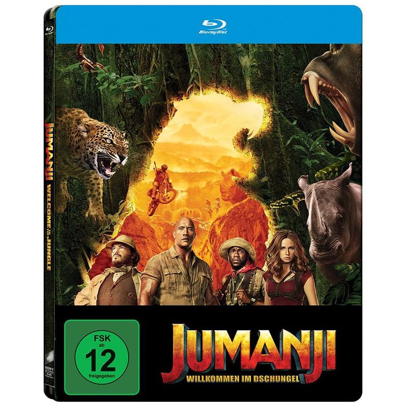 Jumanji: Willkommen im Dschungel – Steelbook Edition (Blu-ray) für 9,99€