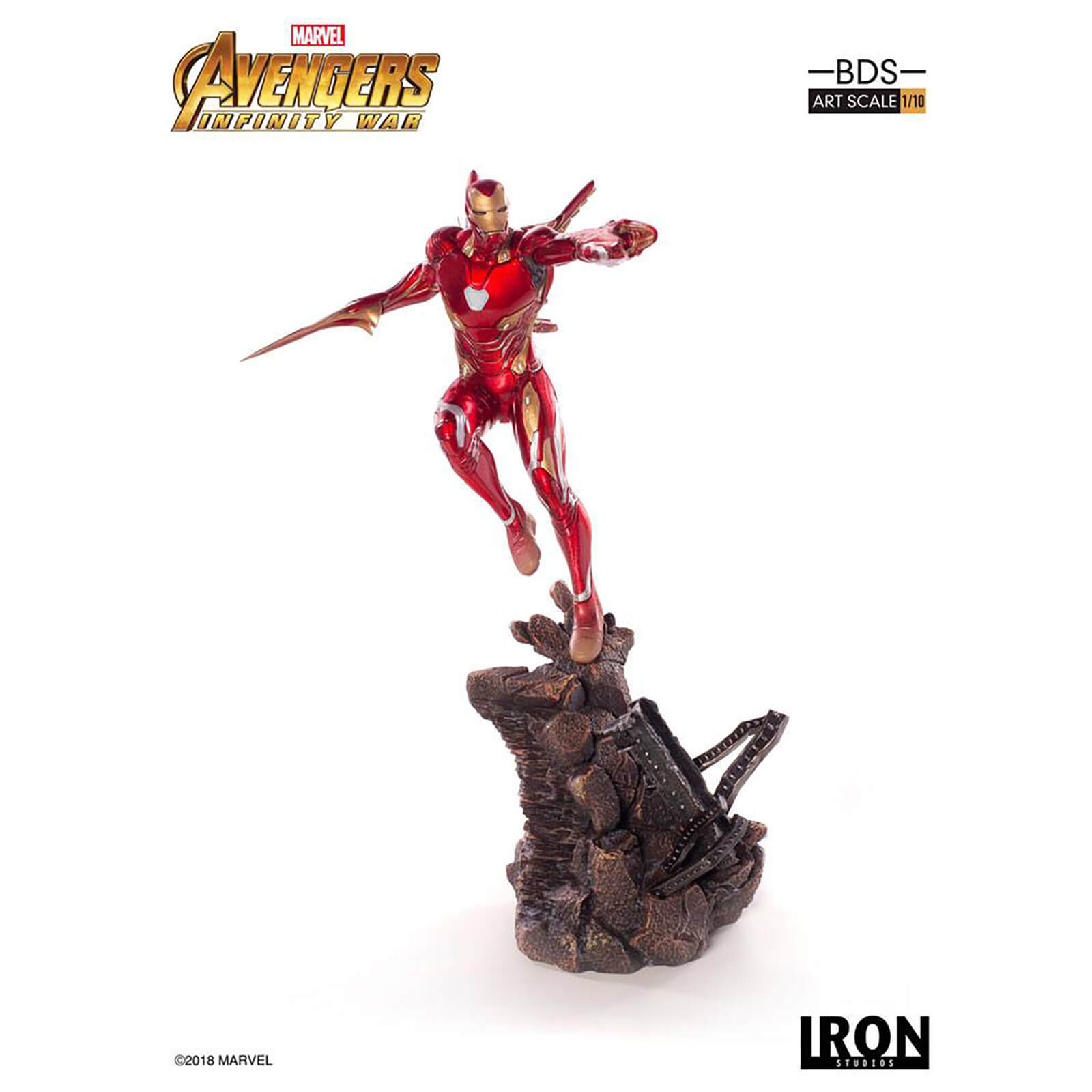 Iron Studios Avengers Infinity War BDS Art Scale Statue 1/10 Iron Man Mark L 31 cm