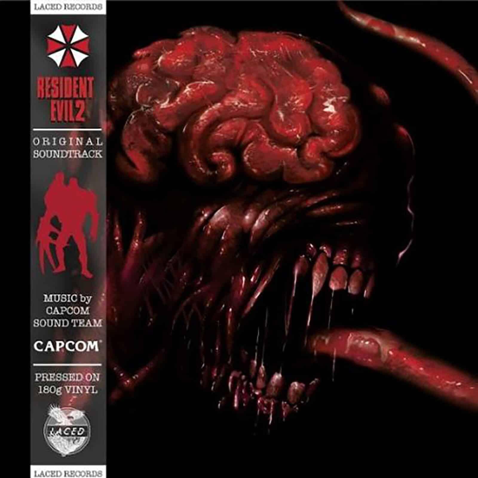 Laced Records - Resident Evil 2 (Original Soundtrack) 2xLP für 41,99€