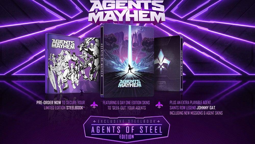 Agents of Mayhem – Steelbook Edition [Playstation 4] für 7,99€