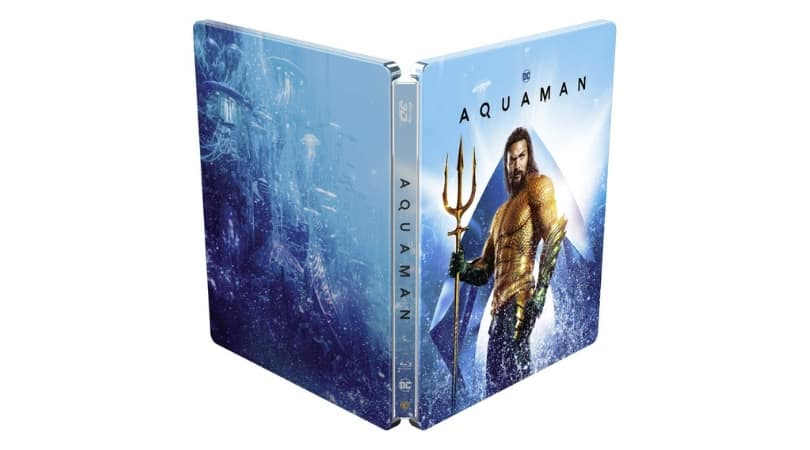 Aquaman - Steelbook Edition (exklusiv bei Amazon de) (Blu
