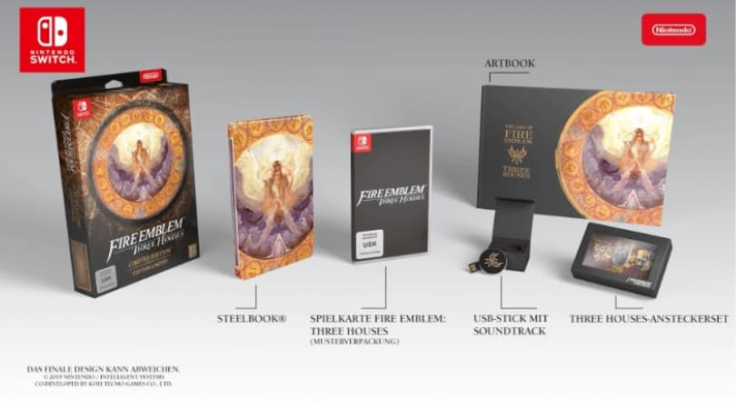 Fire Emblem Three Houses - Limited Edition [Nintendo Switch] für 89,99€