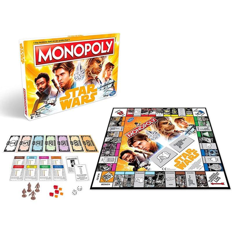 """Monopoly Spiel in der """"Star Wars – Solo: A Star Wars Story"""" Version (deutsch) für 14,50€"""
