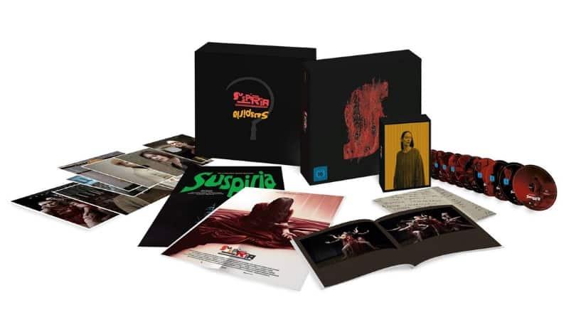 Suspiria 2018 Ultimate Edition 10 Discs 4k Blu