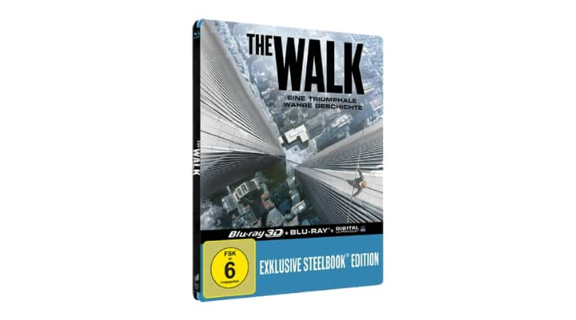 The Walk - Steelbook Edition (Lenticular Cover) (Blu-ray 3D/2D) für 9,99€