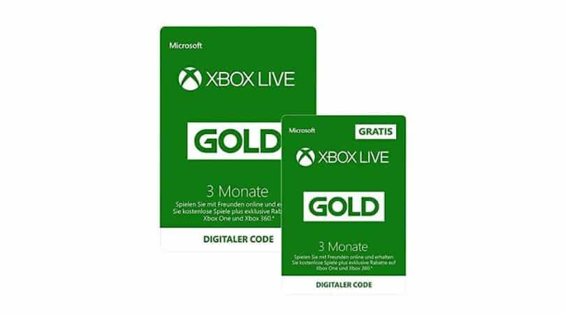 Angebot Xbox Live Gold Mitgliedschaft 3 Monate 3 Monate