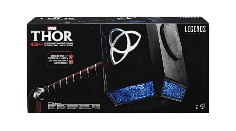 Marvel Legends: Thor – Mjolnir Hammer (Replica) (Hasbro Legend Series)