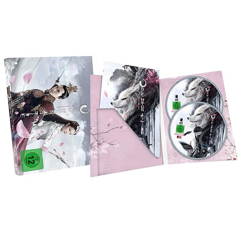 Once Upon A Time – In einer fantastischen Welt – Digipak Edition (Blu-ray + DVD) für 8,15€