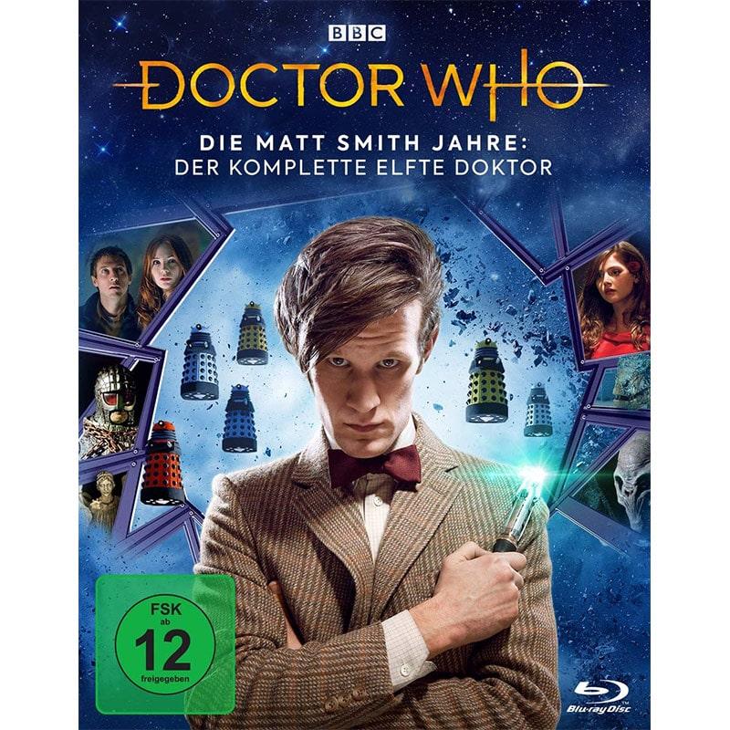 """""""Doctor Who – Die Matt Smith Jahre: Der komplette elfte Doktor"""" ab April 2021 in der Limited Edition (Neuauflage)"""