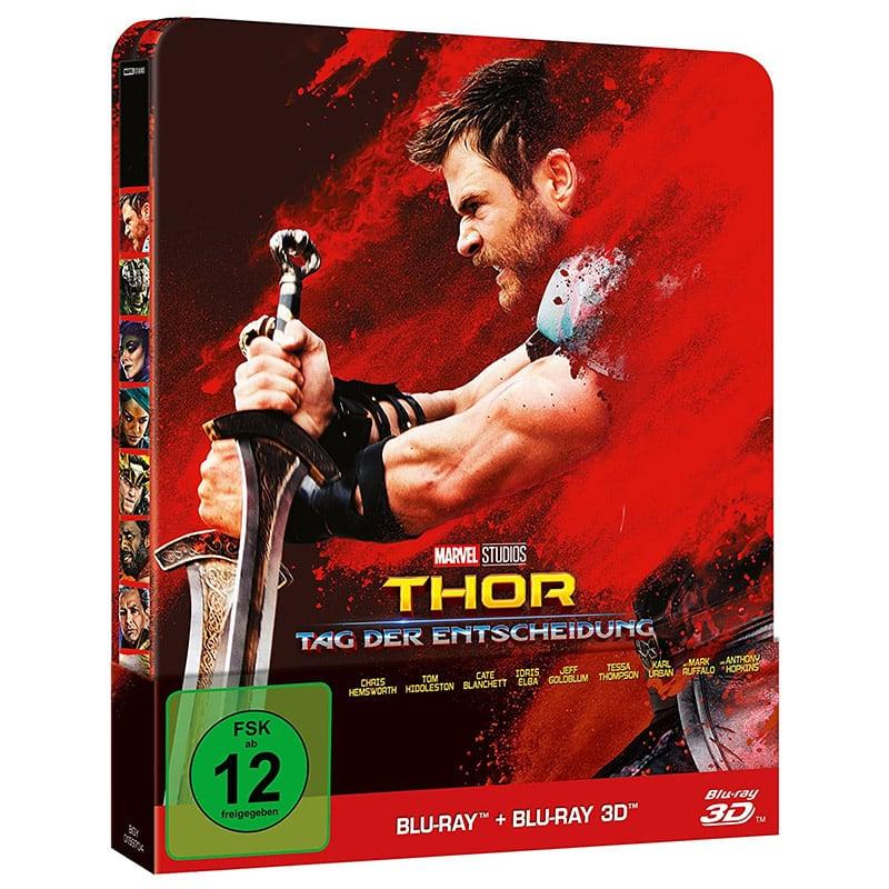 """""""Thor: Tag der Entscheidung"""" im Blu-ray 3D Steelbook (inkl. 2D Blu-ray) für 15,72€"""