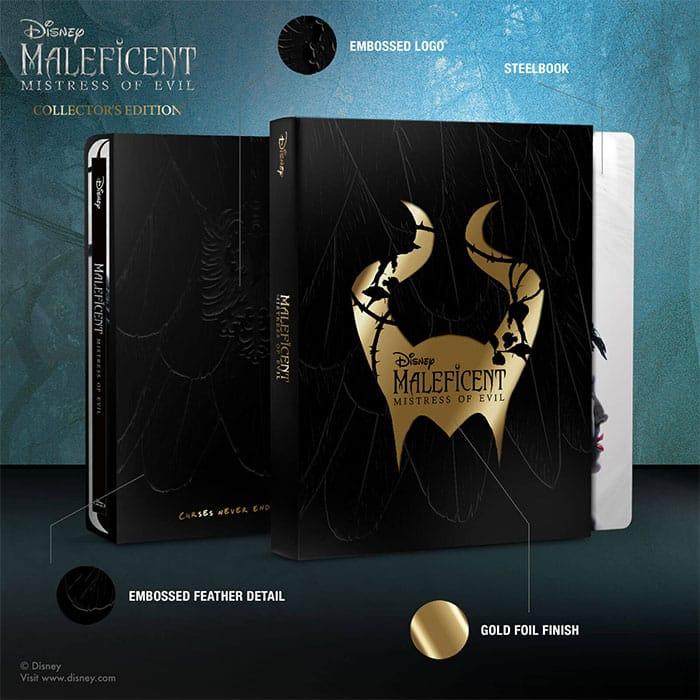 Maleficent: Mistress of Evil – Zavvi Exklusive Collectors Edition (4K UHD + Blu-ray) und (Blu-ray 3D + Blu-ray) (England)