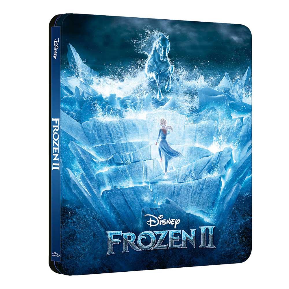 Disney's Frozen 2 – Zavvi exklusive Collector's Edition (4K UHD + Blu-ray ) und (Blu-ray 3D + 2D) (England)