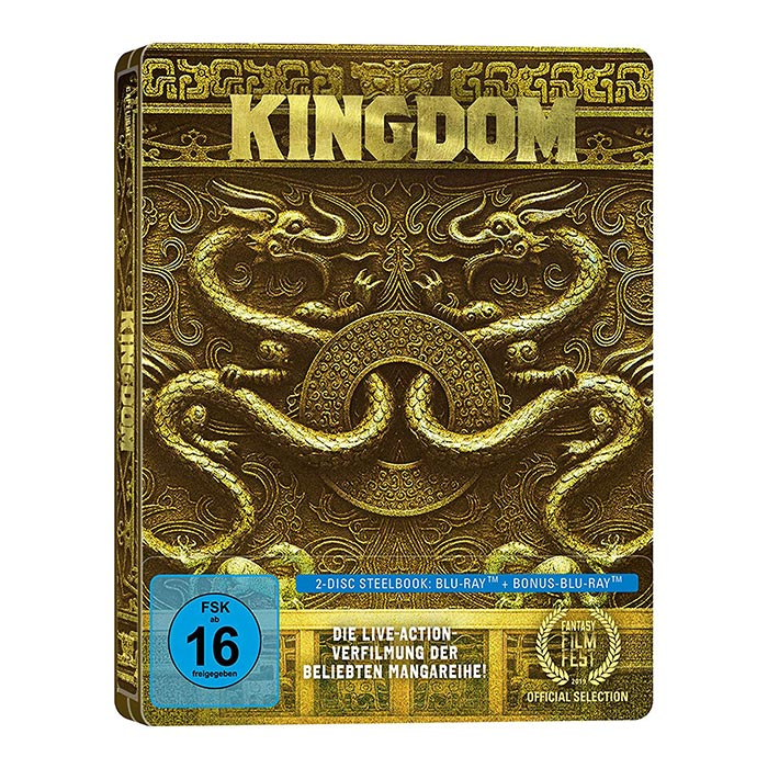 Kingdom – Steelbook Edition (2 Blu-ray) für 9,97€