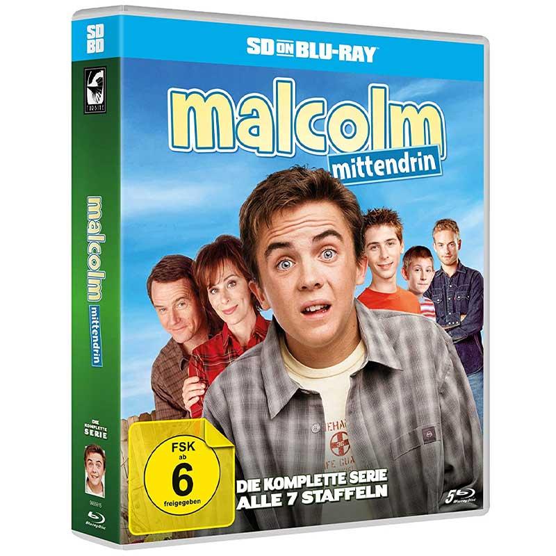Malcolm mittendrin – Die komplette Serie (SD on Blu-ray) für 39,95€