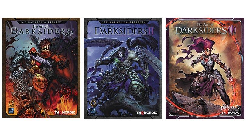 The Art of Darksiders für 15€   The Art of Darksiders II für 12,80€   The Art of Darksiders III für 13,02€ – alle 3 Bücher jeweils in der gebundenen Ausgabe (englisch)