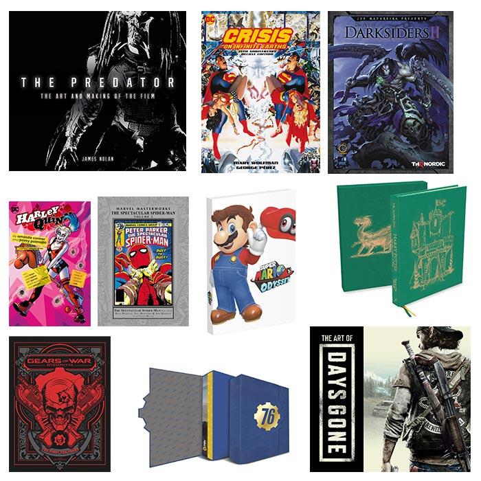 Art-Books,  Guides und Comics bis zu 70% reduziert