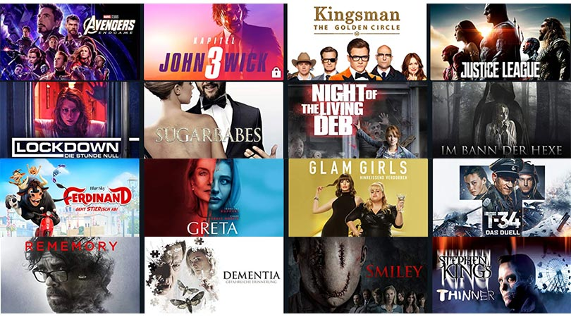 [Angebot Prime] Filme leihen für 99 Cent – unter anderem mit: John Wick 3 | Avengers: Endgame | Justice League