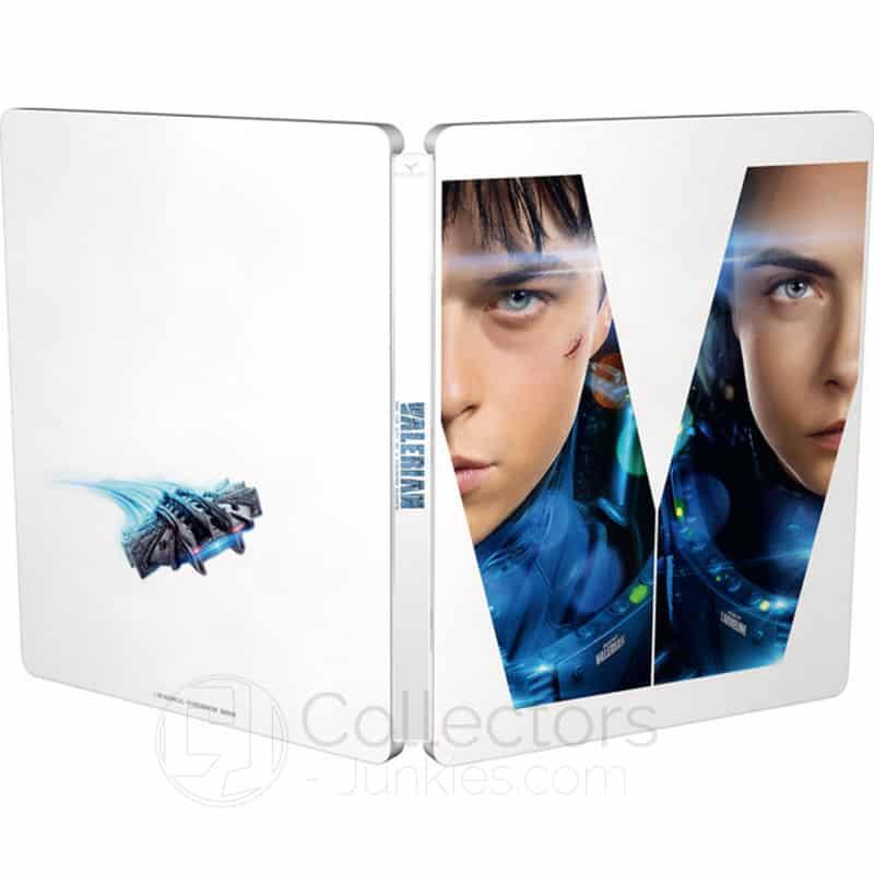 Valerian – Die Stadt der tausend Planeten im Steelbook (Blu-ray 3D & Blu-ray 2D) für 9,83€