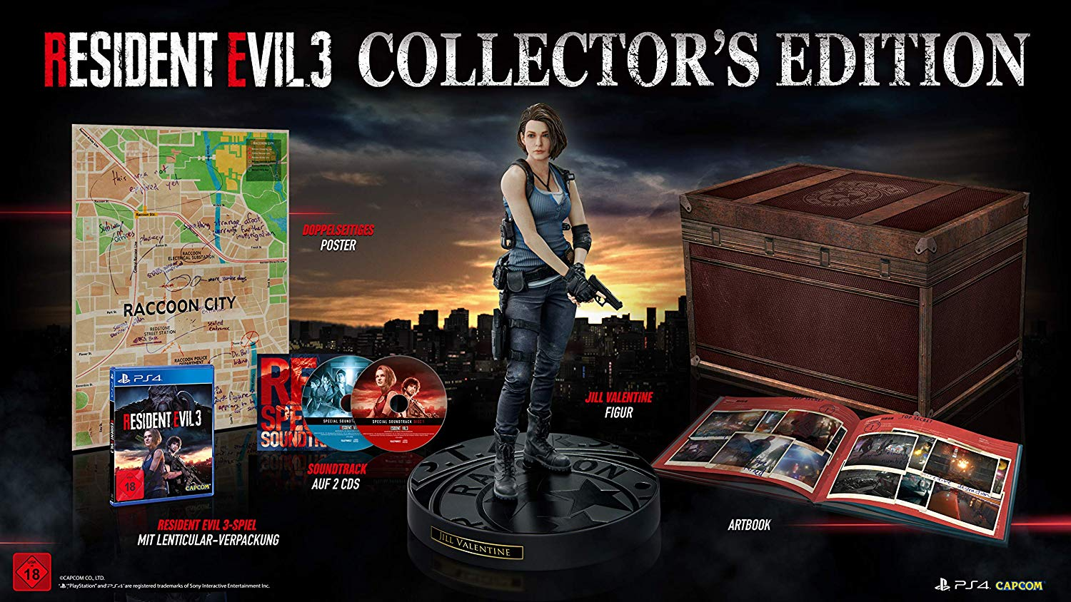 Resident Evil 3: Remake - Collectors Edition (Playstation 4)
